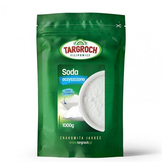 Сода очищенная пищевая/питьевая, 1000г, Targroch